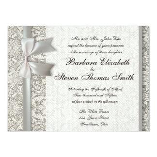 Old Lace Beautiful Wedding Invitation Custom