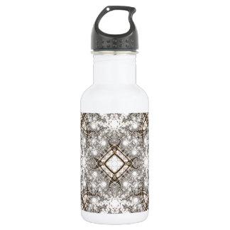 Old Lace Fractal 11 18oz Water Bottle