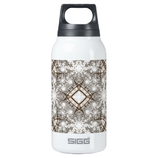 Old Lace Fractal 11 10 Oz Insulated SIGG Thermos Water Bottle