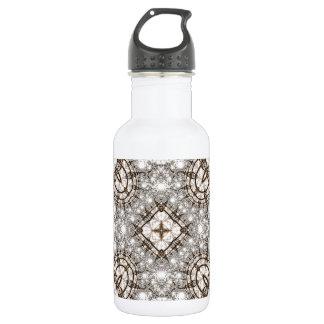 Old Lace Fractal 13 18oz Water Bottle