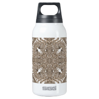 Old Lace Fractal 19 10 Oz Insulated SIGG Thermos Water Bottle