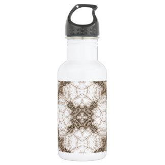 Old Lace Fractal 1 18oz Water Bottle