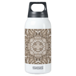 Old Lace Fractal 21 10 Oz Insulated SIGG Thermos Water Bottle