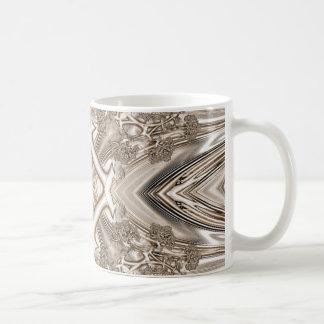 Old Lace Fractal 2 Coffee Mug