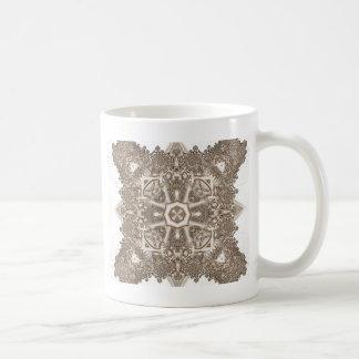 Old Lace Fractal 4 Coffee Mug