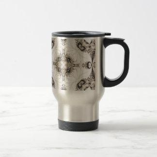 Old Lace Fractal 6 Travel Mug