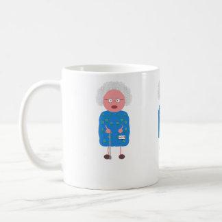 Old lady mug