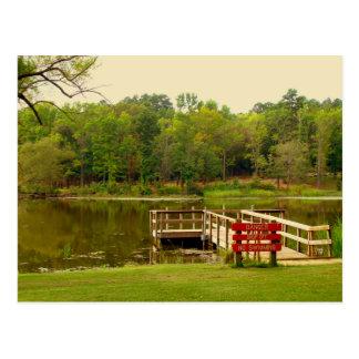 Old Lake Postcard