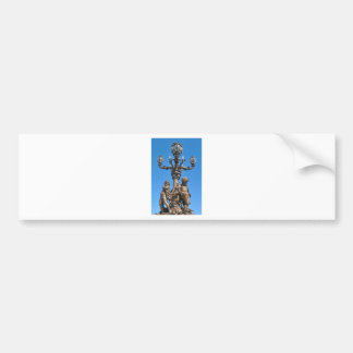 Old lamppost in Paris, France Bumper Sticker