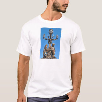 Old lamppost in Paris, France T-Shirt