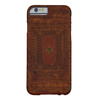Old Leather And Brass Book Cover Barely There iPhone 6 Case