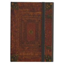 Old Leather And Brass Book Cover iPad Air Case