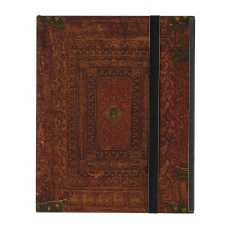 Old Leather And Brass Book Cover iPad Case