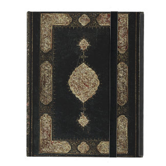 Old Leather And Fine Detail Gold Book Cover iPad Cases