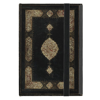Old Leather And Fine detail Gold Book Cover iPad Mini Covers