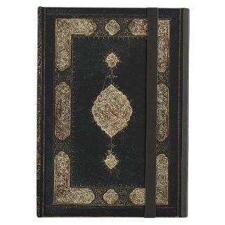 Old Leather And Gold Book Cover Case For iPad Air