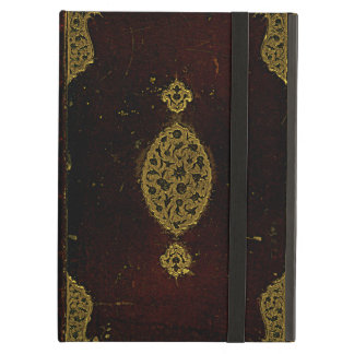Old Leather And Gold Book Cover iPad Air Case