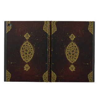 Old Leather And Gold Book Cover Powis iPad Air 2 Case