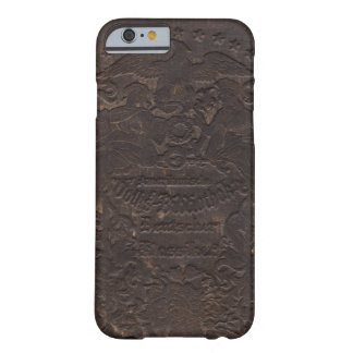 Old Leather Book Cover 3 Barely There iPhone 6 Case