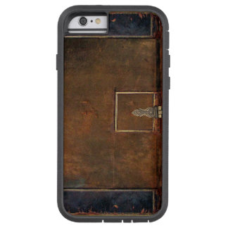 Old Leather Book Cover Tough Xtreme iPhone 6 Case