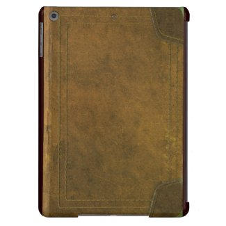 old leather book cover iPad air cases
