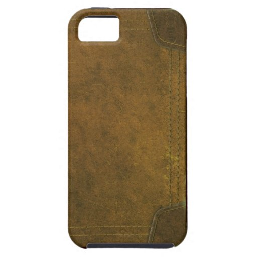 Old Leather Book Iphone Cover : Old leather book cover iphone cases zazzle
