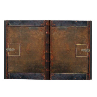 Old Leather Book Cover Powis iPad Air 2 Case