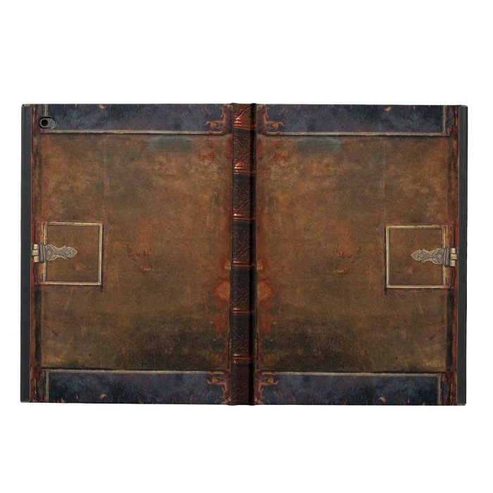 Old Book Leather Case ~ Old leather book cover powis ipad air case zazzle