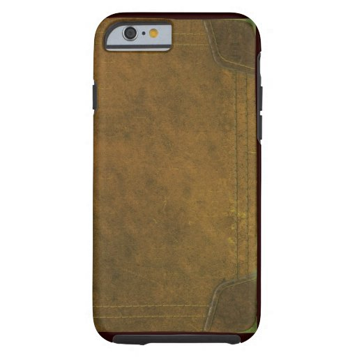 Old Book Phone Case ~ Old leather book cover tough iphone case zazzle