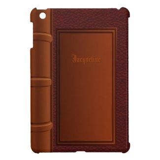 Old Leather Book iPad Mini Case