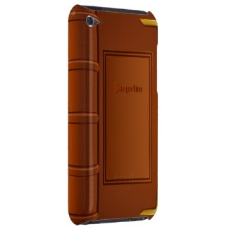 Old Leather Book iPhod Case-Mate Case casematecase