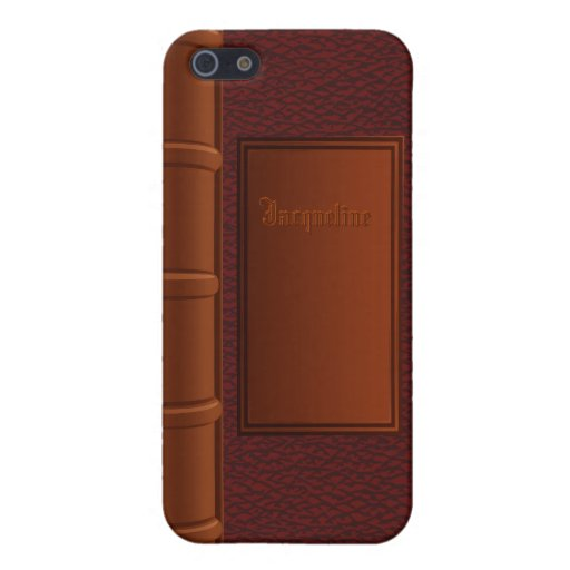 Old Leather Book iPhone 5 Case