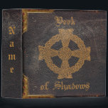 """OLD LEATHER BOUND BOOK of SHADOWS BINDER<br><div class=""""desc"""">Gather together all of your loose magical pages and put them all together in this Old Leather Bound Binder.</div>"""