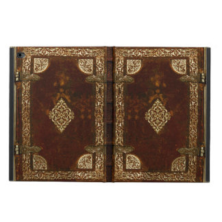Old Leather Brass And Gilded Book Cover Powis iPad Air 2 Case
