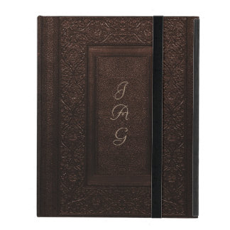 Old Leather Classic Style Book Cover iPad Cases