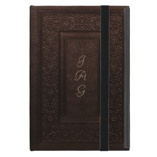 Old Leather Classic Style Book Cover iPad Mini Covers