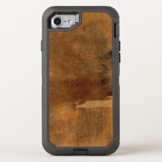 Old Leather Fingerprints Included OtterBox Defender iPhone 8/7 Case