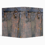 Old Leather Gothic Book Vinyl Binders