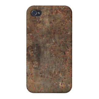 Old Leather Print Case For iPhone 4