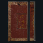 "Old Leather Victorian Style Book Cover<br><div class=""desc"">Personalize this authentic Victorian design old book cover by adding your own initials on both sides of the cover. If you have the iPad Mini 4 please contact me as the design will have to be adjusted to fit the new size and I will email you a link to the...</div>"