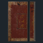 """Old Leather Victorian Style Book Cover<br><div class=""""desc"""">Personalize this authentic Victorian design old book cover by adding your own initials on both sides of the cover. If you have the iPad Mini 4 please contact me as the design will have to be adjusted to fit the new size and I will email you a link to the...</div>"""