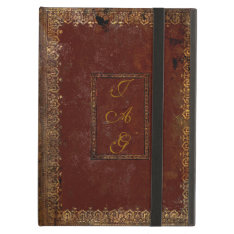 Old Leather Victorian Style Book Cover at Zazzle