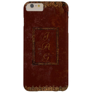 Old Leather Victorian Style Book Cover Barely There iPhone 6 Plus Case