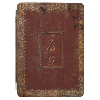 Old Leather Victorian Style Book Cover iPad Air Cover