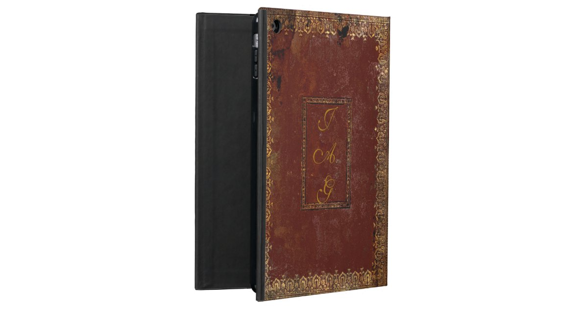 Vintage Book Cover For Ipad Air : Old leather victorian style book cover ipad air case zazzle