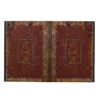 Old Leather Victorian Style Book Cover Powis iPad Air 2 Case
