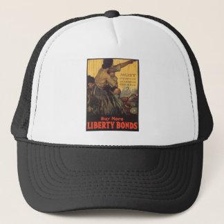 "Old ""Liberty Bonds""  U.S. War Poster c. 1918 Trucker Hat"