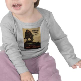 "Old ""Liberty Bonds""  U.S. War Poster c. 1918 T-shirts"