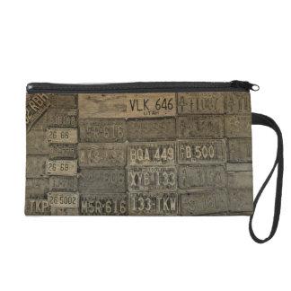 Old License Plages Wristlet Bag