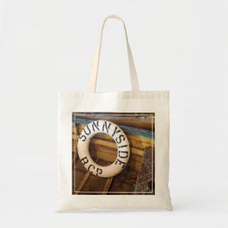 Old Life Preserver In An Abandoned Cannery Tote Bag